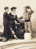 On Holiday, Arriving, from the 'Fantaisies' Series, 1900 Photographic Print
