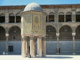 Facade of a Mosque, Umayyad Mosque, Damascus, Syria Photographic Print