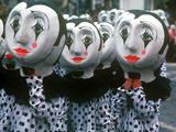 Mardi Gras, Schaan, Liechtenstein Photographic Print