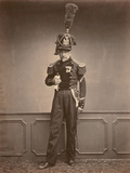 M. Lefebre, Sergeant in the 2nd Regiment of Engineers, 1860 Photographic Print