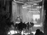 Street in Kabul, 1939 Fotografisk tryk