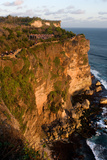 Cliffs Next to the Ulu Watu Temple Pura Luhur, Bali Photographic Print