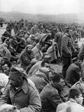 Serbian Prisoners Taken During German Occupation of Yugoslavia, 1941 Photographic Print