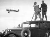 Cameramen Filming Elly Beinhorn Flying, 1932 Photographic Print