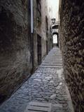 Jewish Quarter, Girona, Spain Photographic Print