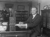 Herbert Hoover, C.1921-23 Photographic Print