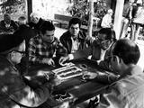 Domino Players in Little Havana, C.1985 Photographic Print