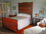 Isobel's Bedroom, Villa Vailima, Apia, Samoa Photographic Print