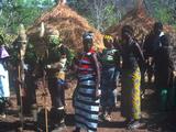 Initiation Rites of the Basari People, Senegal Fotografisk tryk
