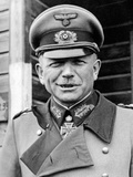 Portrait of General Heinz Guderian, 1944-45 Photographic Print