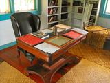 Robert Louis Stevenson's Desk, Villa Vailima, Apia, Samoa Photographic Print