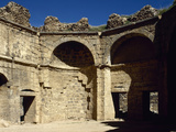 Syria, Bosra, Hammab Manshak, Old Public Baths, 14th Century, Ruins Photographic Print