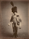 Quartermaster Fabry of the 1st Hussars, 1860 Photographic Print