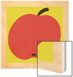 Apple Wood Print by Philip Sheffield