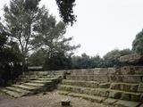 Pompeii. Triangular Forum. Doric Temple Ruins. 6th Century BC Photographic Print