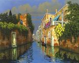 Romance of Venice Giclee Print by Lucio Sollazzi