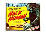 Half Human, (AKA Half Human: the Story of the Abominable Snowman), 1958 Metal Print