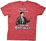 Archer- Social Drinker T-Shirt