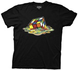 Rubik's Cube- Melting Cube Shirts