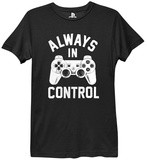 Ladies: Playstation- Always In Control Shirts by Ladies T-Shirt