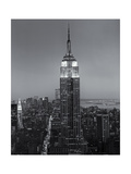 Empire State Building Fifth Avenue Evening Photographic Print by Henri Silberman