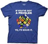 Rubik's Cube- Yo I'Ll Solve It T-Shirt