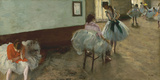 The Dance Lesson, c. 1879 Giclee Print by Edgar Degas