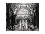 World Financial Center Winter Garden Atrium Papier Photo par Henri Silberman