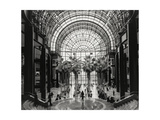 World Financial Center Winter Garden Atrium Fotografisk tryk af Henri Silberman