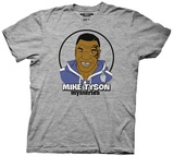 Mike Tyson's Mysteries- Smiling Mike With Pigeon T-shirts
