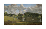 Wivenhoe Park, Essex 1816 Premium Giclee Print by John Constable