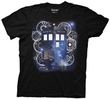 Doctor Who- Tardis Space Tech Shirts