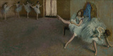 Before the Ballet Giclee Print by Edgar Degas