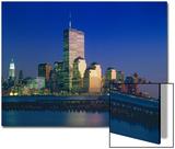 World Financial Center Evening Sunset Prints by Henri Silberman
