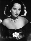 Dark Waters, Merle Oberon, 1944 Metal Print