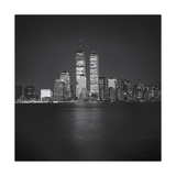World Financial Center Evening 1 Photographic Print by Henri Silberman