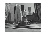 Grand Army Plaza New York City Statue Photographic Print by Henri Silberman