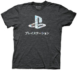 Playstation- Holographic Foil Logo T-Shirt