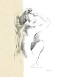 Serene Figure II Giclee Print by Deborah Pearce