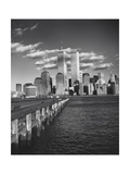 World Financial Center Clouds Shadows Photographic Print by Henri Silberman