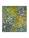 Iris Metal Print by Claude Monet
