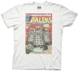 Doctor Who- Dalek Comic Cover T-shirts