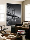 Manhattan Bridge Tugboat Afternoon Wall Mural by Henri Silberman