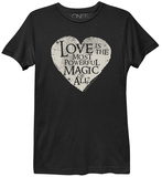 Ladies: Once Upon A Time- Love Is The Most Powerful Magic T-shirts by Ladies T-Shirt