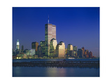 World Financial Center Evening Sunset Photographic Print by Henri Silberman