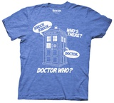 Doctor Who- Knock Knock T-shirts