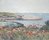 Poppies, Isles of Shoals 1891 Posters by Frederick Childe Hassam