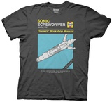 Doctor Who- Sonic Screwdriver Haynes Manual T-shirts