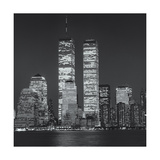 World Financial Center Evening Close-Up Photographic Print by Henri Silberman