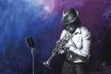 Jazz Hot II Giclee Print by Shawn Mackey